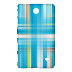 Lines Blue Stripes Samsung Galaxy Tab 4 (8 ) Hardshell Case  by Mariart
