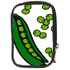 Peas Green Peanute Circle Compact Camera Cases by Mariart
