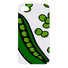Peas Green Peanute Circle Apple Iphone 4/4s Hardshell Case by Mariart