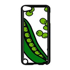 Peas Green Peanute Circle Apple Ipod Touch 5 Case (black) by Mariart