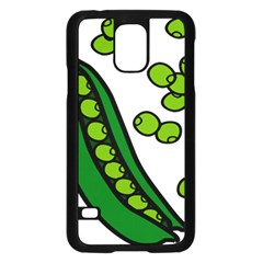 Peas Green Peanute Circle Samsung Galaxy S5 Case (black) by Mariart