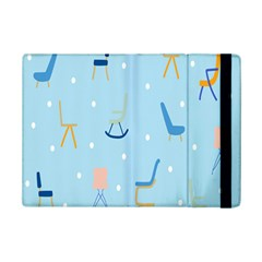 Seat Blue Polka Dot Ipad Mini 2 Flip Cases by Mariart