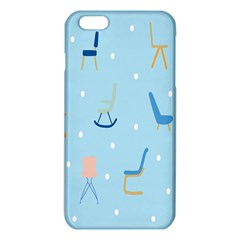 Seat Blue Polka Dot Iphone 6 Plus/6s Plus Tpu Case by Mariart