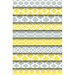 Paper Yellow Grey Digital 5 5  X 8 5  Notebooks by Mariart