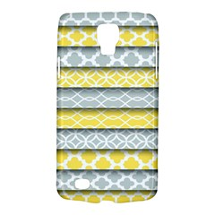 Paper Yellow Grey Digital Galaxy S4 Active by Mariart