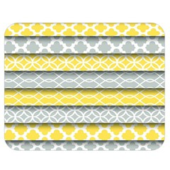 Paper Yellow Grey Digital Double Sided Flano Blanket (medium)  by Mariart