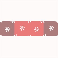 Seed Life Seamless Remix Flower Floral Red White Large Bar Mats by Mariart