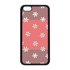 Seed Life Seamless Remix Flower Floral Red White Apple Iphone 5c Seamless Case (black) by Mariart
