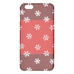 Seed Life Seamless Remix Flower Floral Red White Iphone 6 Plus/6s Plus Tpu Case by Mariart