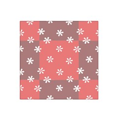 Seed Life Seamless Remix Flower Floral Red White Satin Bandana Scarf by Mariart