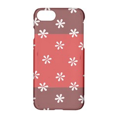 Seed Life Seamless Remix Flower Floral Red White Apple Iphone 7 Hardshell Case by Mariart