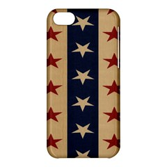 Stars Stripes Grey Blue Apple Iphone 5c Hardshell Case by Mariart
