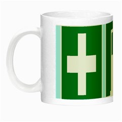 Traffic Signs Hospitals, Airplanes, Petrol Stations Night Luminous Mugs by Mariart