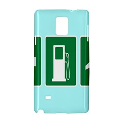 Traffic Signs Hospitals, Airplanes, Petrol Stations Samsung Galaxy Note 4 Hardshell Case by Mariart