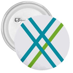 Symbol X Blue Green Sign 3  Buttons