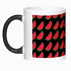 Watermelon Slice Red Black Fruite Morph Mugs by Mariart