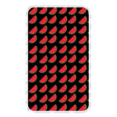 Watermelon Slice Red Black Fruite Memory Card Reader by Mariart