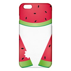 Watermelon Slice Red Green Fruite Iphone 6 Plus/6s Plus Tpu Case by Mariart