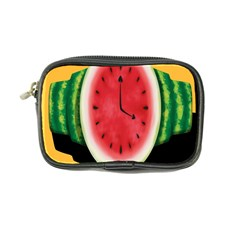 Watermelon Slice Red Orange Green Black Fruite Time Coin Purse by Mariart
