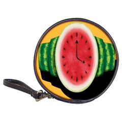Watermelon Slice Red Orange Green Black Fruite Time Classic 20 Cd Wallets by Mariart