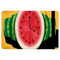 Watermelon Slice Red Orange Green Black Fruite Time Ipad Air 2 Flip by Mariart