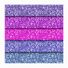 Violet Girly Glitter Pink Blue Medium Glasses Cloth by Mariart