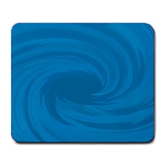 Whirlpool Hole Wave Blue Waves Sea Large Mousepads by Mariart