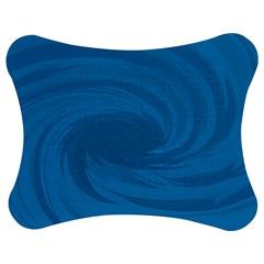 Whirlpool Hole Wave Blue Waves Sea Jigsaw Puzzle Photo Stand (bow) by Mariart