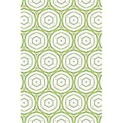 Wood Star Green Circle 5 5  X 8 5  Notebooks by Mariart