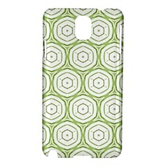 Wood Star Green Circle Samsung Galaxy Note 3 N9005 Hardshell Case by Mariart
