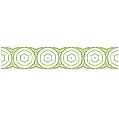 Wood Star Green Circle Flano Scarf (large) by Mariart