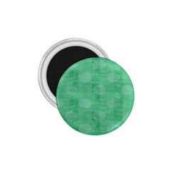 Polka Dot Scrapbook Paper Digital Green 1 75  Magnets by Mariart