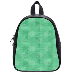 Polka Dot Scrapbook Paper Digital Green School Bags (small)  by Mariart