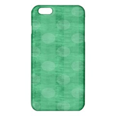 Polka Dot Scrapbook Paper Digital Green Iphone 6 Plus/6s Plus Tpu Case by Mariart