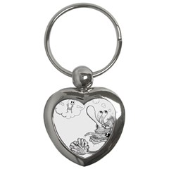 Bwemprendedor Key Chains (heart)  by PosterPortraitsArt