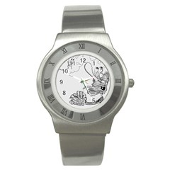 Bwemprendedor Stainless Steel Watch