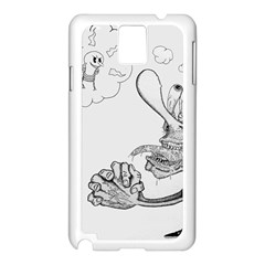 Bwemprendedor Samsung Galaxy Note 3 N9005 Case (white) by PosterPortraitsArt