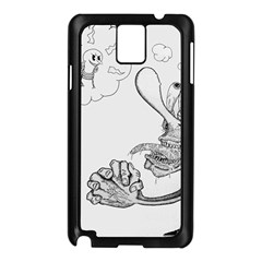 Bwemprendedor Samsung Galaxy Note 3 N9005 Case (black) by PosterPortraitsArt