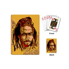 Bunnylinear Playing Cards (mini)  by PosterPortraitsArt