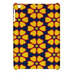 Yellow Flowers Pattern        			apple Ipad Mini Hardshell Case by LalyLauraFLM