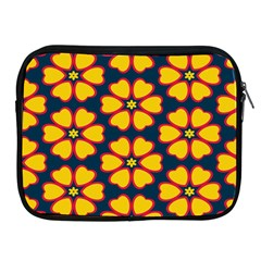 Yellow Flowers Pattern        			apple Ipad 2/3/4 Zipper Case by LalyLauraFLM