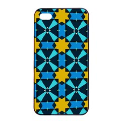 Stars Pattern      			apple Iphone 4/4s Seamless Case (black) by LalyLauraFLM