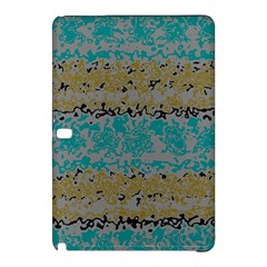 Blue Brown Waves      			samsung Galaxy Tab Pro 12 2 Hardshell Case by LalyLauraFLM