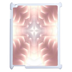 Neonite Abstract Pattern Neon Glow Background Apple Ipad 2 Case (white) by Nexatart
