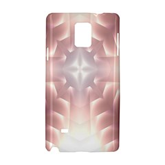 Neonite Abstract Pattern Neon Glow Background Samsung Galaxy Note 4 Hardshell Case by Nexatart