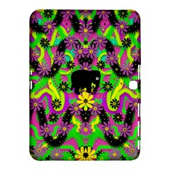 Jungle Life And Apples Samsung Galaxy Tab 4 (10 1 ) Hardshell Case  by pepitasart