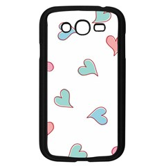 Colorful Random Hearts Samsung Galaxy Grand Duos I9082 Case (black) by Nexatart