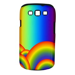 Background Rainbow Samsung Galaxy S Iii Classic Hardshell Case (pc+silicone) by Nexatart