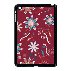 Floral Seamless Pattern Vector Apple Ipad Mini Case (black) by Nexatart