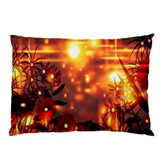 Summer Evening Pillow Case by Nexatart